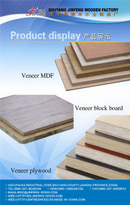 1220*2440mm Red Cherry Exported Standard AAA Grade Veneer MDF pictures & photos