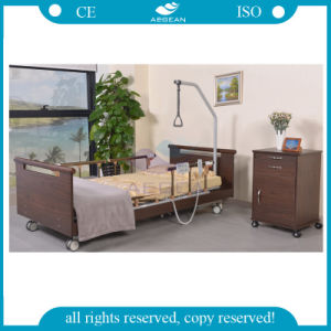 AG-W002 Three Function Electric Nursing Home Hospital Beds pictures & photos