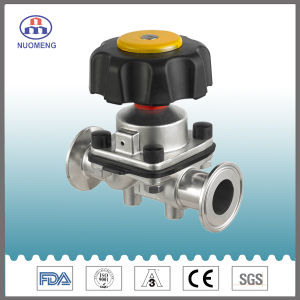 Stainless Steel Manual Clamped Diaphragm Valve pictures & photos