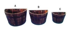 New Designe China Cedar Wood Flower Pot pictures & photos