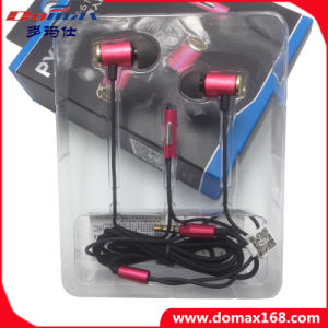 Metal Shell Stereo Ear Earphone with Wire Function pictures & photos