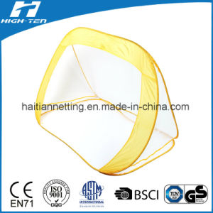 Yellow Colour Pop up Goal with White Mesh pictures & photos