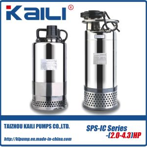 JYWQ Auto-stirring With Stainless Steel Casing Sewage Submersible Pump pictures & photos