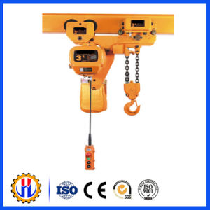 High Quality Wire Rope Electric Hoist with Monoral Tral Hoist Trolley pictures & photos