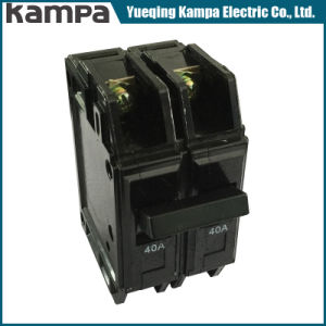 2p 40AMP 6ka Black Miniature Circuit Breaker pictures & photos