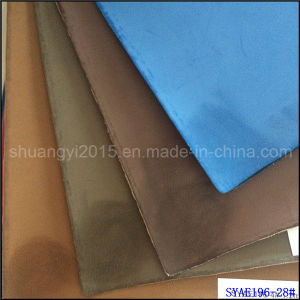 Brush-off Leather PU Shoes Material Boots PU Leather pictures & photos
