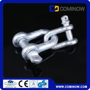 Us Type Screw Pin Anchor Shackle / G210 Dee Shackle / Drop Forged Alloy Chain Shackle pictures & photos