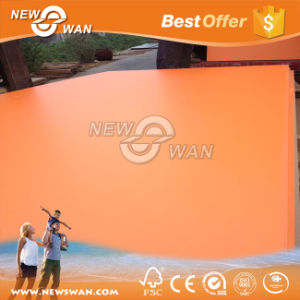 Solid Color Melamine Paper Faced MDF (Orange, Blue, Green) pictures & photos