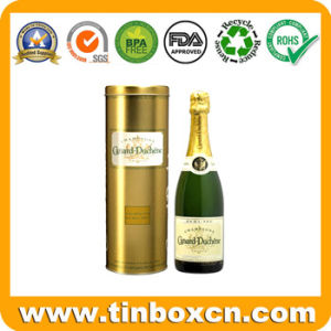 Metal Food Container Whisky Can, Vodka Tin Box, Wine Tin pictures & photos