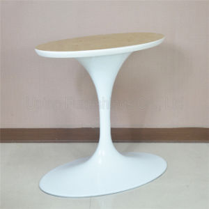 (SP-ATL001) Elegant White Aluminum Oval Tulip Table Base pictures & photos