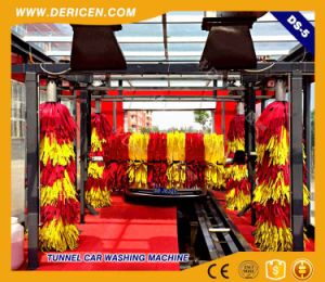 Dericen Ds5 Tunnel Automatic Car Washing Machine with 5 Brushes pictures & photos
