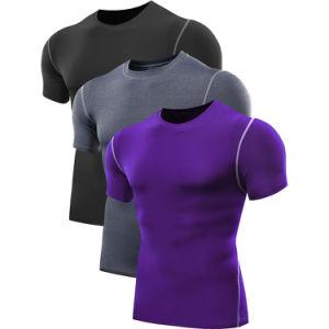 Factory Wholesale Men Fitness T-Shirts Sport Wear T-Shirts pictures & photos