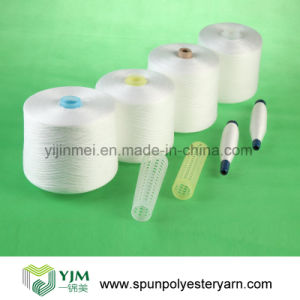 100% Polyester Yarn Ring Spun Technics pictures & photos