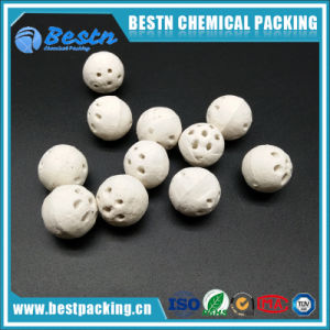 Porous Perforated Alumina Ceramic Ball for Catalyst Support pictures & photos
