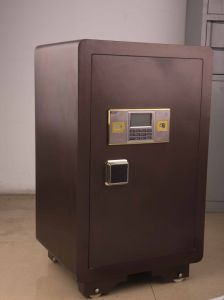 Laser Cutting 3c Digital Safe Box for Home and Office Use pictures & photos