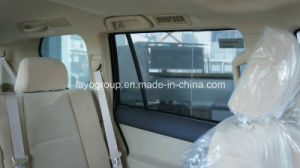 Foldable Steel Wire Framed Mesh Fabric Sunshade for Prado pictures & photos