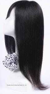 Silk Straight Mongolian Virgin Hair Human Hair Silk Top Wig