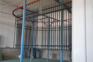 2.25m X 2.35m Australia Standard Spear Top Security Steel Fence Panel (XMS14) pictures & photos