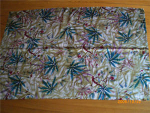 Printed Silk Satin in Tree and Flower Pattern pictures & photos