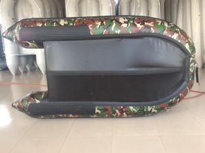 Camouflage Inflatable Boat (2.7m aluminum floor) pictures & photos