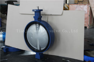 Universal Flange Connection Butterfly Valve with Ce ISO Wras Certificates