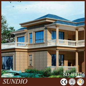 Decorative Glazed Sandstone Grain Porcelain Polished Wall Tile for Outdoor pictures & photos