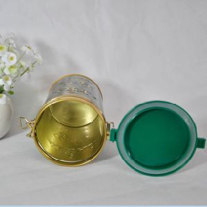 Hot Sale Food Round Tea Tin Box