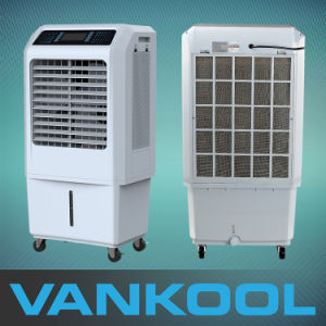 2500CMH Small Size Cooling Pad Water Air Cooler with 3 Speeds pictures & photos