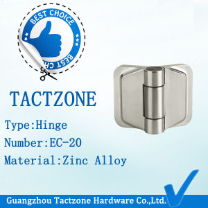 Good Heavy Toilet Partition Fittings Decorative Zinc Alloy Hinges pictures & photos
