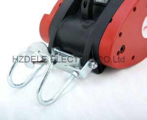 250kg Mini Electric Wire Rope Hoist Supending Electric Winch pictures & photos