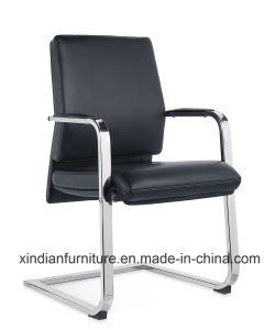 Xindian Black PU Duable Fixed Office Chair (D9055) pictures & photos