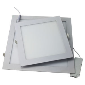 2016 Hot Sale Aluminum Ultra Thin Square and Round 3W 4W 6W 9W 12W 15W 18W LED Panel Light pictures & photos
