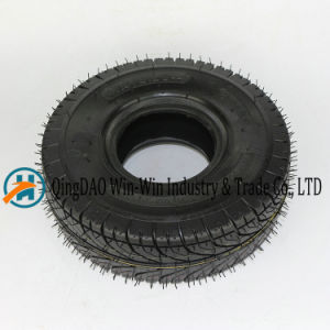 Pneumatic Rubber Wheel for Platform Trucks Wheel (3.50-4) pictures & photos