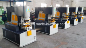 Shanghai Jinsanli Hydraulic Operate Ironworker Machine pictures & photos
