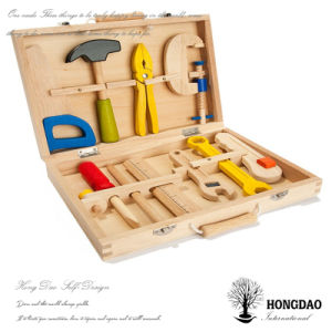 Hongdao Custom Wooden Tool Toy Packaging Box for Children Wholesale_C pictures & photos