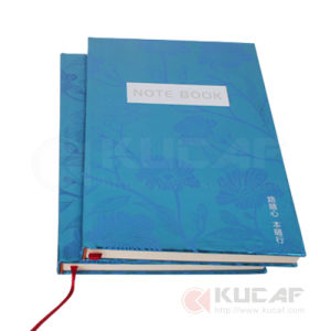 Office Supply UV Printing Paper Hardcover Case Bound Notebooks pictures & photos