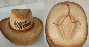 Canada Straw Surf Hat Men/ Mens Cowboy Straw Hat Promotional/Cheap Hat pictures & photos