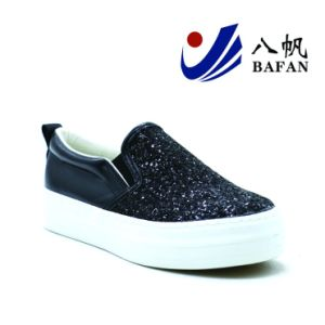 2017 Sequins Fashion Casual Shoes for Women Bf1701479 pictures & photos