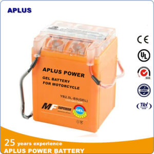 High-Class Gel Motorcycle Battery Yb2.5L-BS 12V 2.5ah with ABS Container pictures & photos