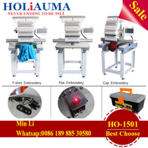 Hot Sale Computerized Holiauma Brother One-Head Embroidery Machine for T-Shirt and Cap pictures & photos