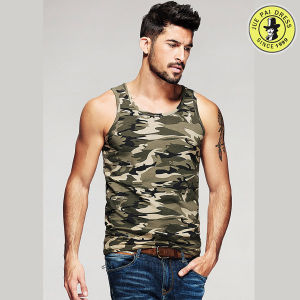 Latest Design 100% Cotton Summer Vest for Men Pictures Round Neck Short Sleeve T-Shirt pictures & photos