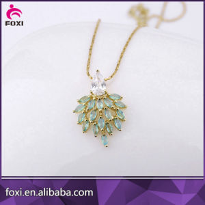 Latest Designs Pendant Eearrings Saudi Bridal Jewelry Sets pictures & photos