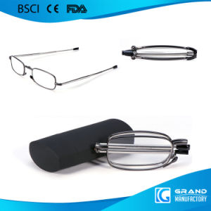2017 Metal Folding Reading Glasses with Case pictures & photos