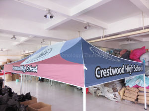 High Quality 40X40X2.0mm Leg Profile Steel Frame Folding Tent in 3m X 6m
