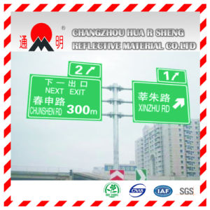 Super High Intensity Grade Prism Reflective Film for Highway Road Sign (TM9200) pictures & photos