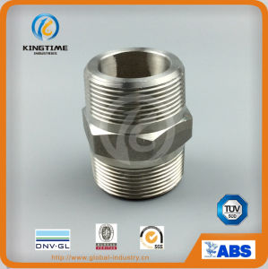 Stainless Steel Threaded Hex Nipple Steel Forged Fittings (KT0571) pictures & photos