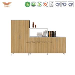 Melamine Office Storage Cabinet Bookcase Furniture File Cabinet (H90-0603) pictures & photos