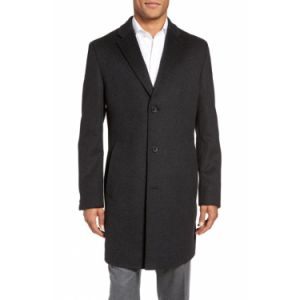 Made to Measure 100% Wool Long Coat for Men pictures & photos