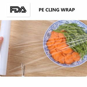 Factory Cling Film LLDPE Shrink Wrapping Film Wrap Jumbo Roll pictures & photos