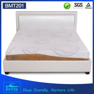OEM Resilient Diamond Foam Mattress 20cm High with Relaxing Memory Foam and Detachable and Washable Cover pictures & photos